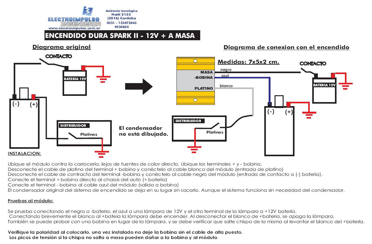Este Diagrama De Encendido Electrónico Que Incluye Información De