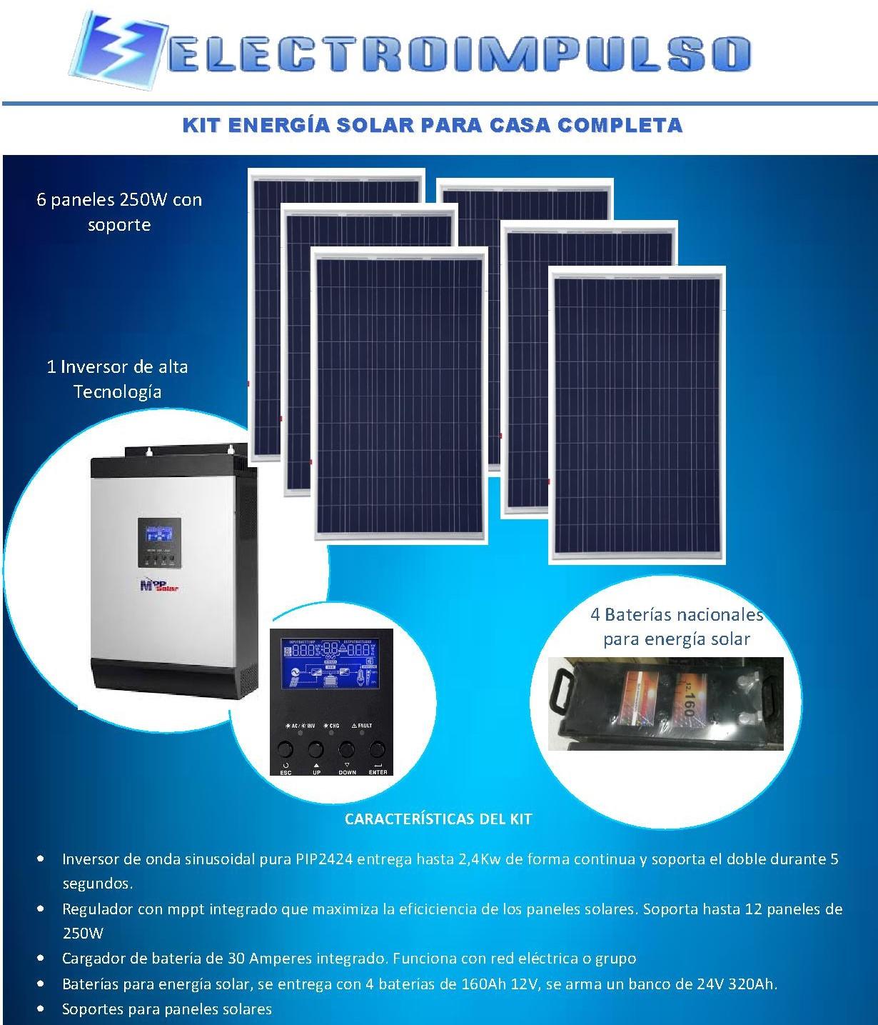 Kit Energ 237 A Solar Modelos